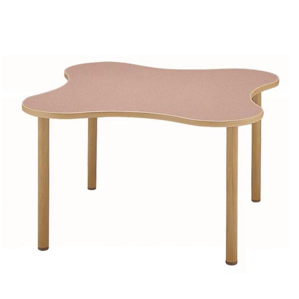 サンケイ 変形テーブル(H700〜750mm) TCA1200-ZW ナチュラル