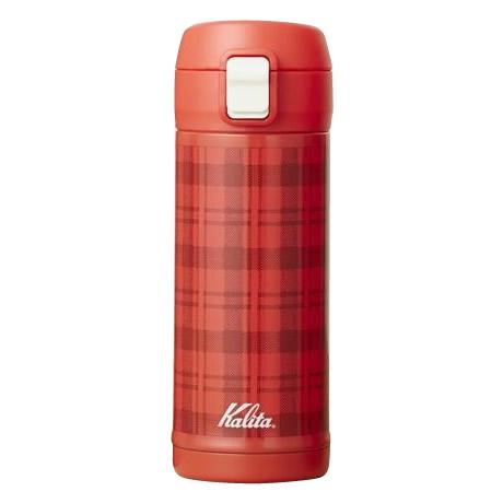 Kalita(カリタ) ボトル タータンチェック 350ml 73127