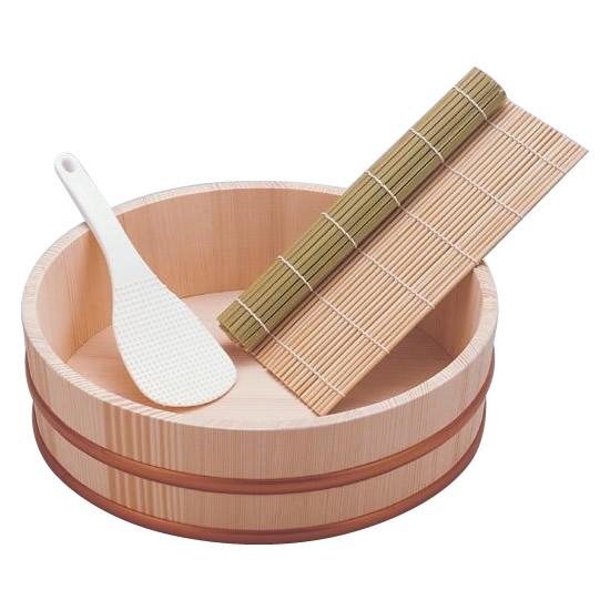 寿司桶セット(3合用) 110-504