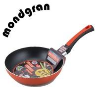 モンドグラン IH対応 フライパン 20cm オレンジ MR-7819(1023330)