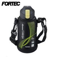 FORTEC(フォルテック) スピード ワンタッチ栓 ダイレクトボトル(保冷専用) 0.6L ブラック FSR-7925(1023443)