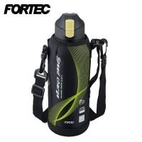 FORTEC(フォルテック) スピード ワンタッチ栓 ダイレクトボトル(保冷専用) 1.0L ブラック FSR-7926(1023444)