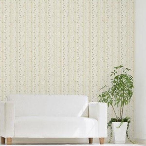 のり残りなし!アクセント壁紙 幅92×高さ250cm 植物 ブルー(B) WAP-506