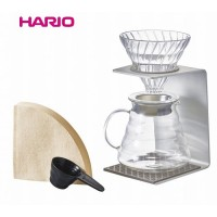 HARIO(ハリオ) V60 アルミシングルスタンドセット VSA-1006-SV