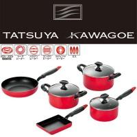 タツヤ・カワゴエ (樹脂ハンドル) キッチンツール5点セット TKM-1500S