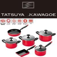 タツヤ・カワゴエ (樹脂ハンドル) キッチンツール6点セット TKM-2000S