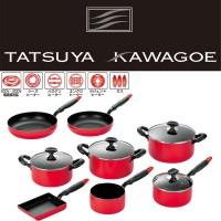 タツヤ・カワゴエ (樹脂ハンドル) キッチンツール8点セット TKM-2500S