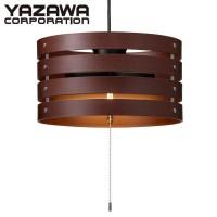 YAZAWA(ヤザワコーポレーション) LED9W 3灯 ペンダントライトライト ダークブラウン Y07PDL09L02DBR