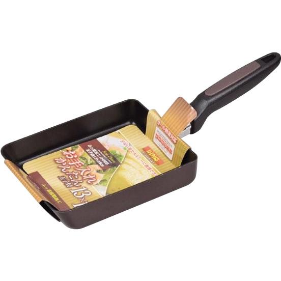 パール金属 ニューチャコ ふっ素加工IH対応玉子焼13×18cm HB-1666