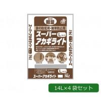 あかぎ園芸 防犯用・雑草防止用 アカギスーパーライト Lサイズ 14L×4袋