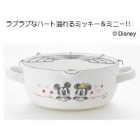 ミッキー&ミニー ホーローフライヤー18cm(天ぷら鍋) MM-301