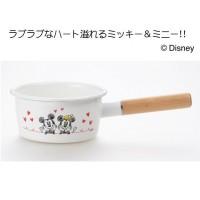 ミッキー&ミニー ホーローミルクパン15cm MM-302
