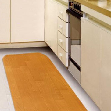 EASEキッチンマット ブラウン EKM-56 幅45×長さ240cm