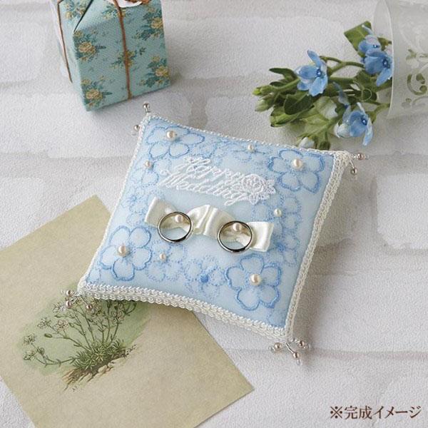 ハマナカ 小花のリングピロー H431-156