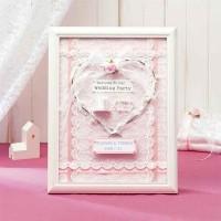 パナミ ウェディング 天使のウェルカムボード ピンク 作品(完成品) HW-19