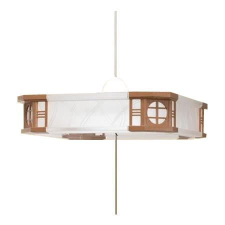 TAKIZUMI(瀧住)ペンダントライト和風 〜6畳 LEDタイプ RV60063
