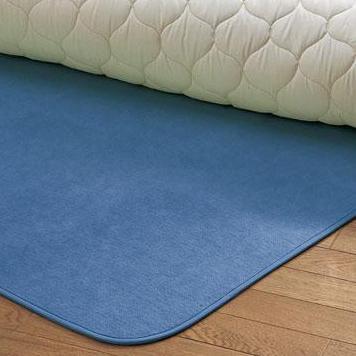 西川リビング 1319-04229 (SD)110×180cm シリカゲル入り調湿シートからっと寝 (23)ブルー