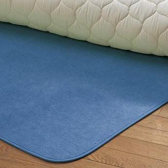 西川リビング 1319-04237 (D)130×180cm シリカゲル入り調湿シートからっと寝 (23)ブルー