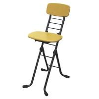 ルネセイコウ リリィチェアM(折りたたみ椅子) ナチュラル/ブラック 日本製 完成品 CSM-320T