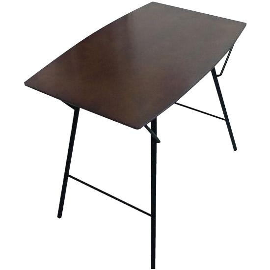ルネセイコウ トラス バレルテーブル750 ダークブラウン/ブラック 日本製 完成品 TBT-7550TD
