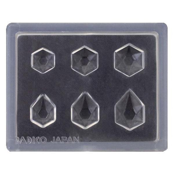PADICO パジコ ジュエルモールドミニ ジュエリーカットヘキサゴン 401010