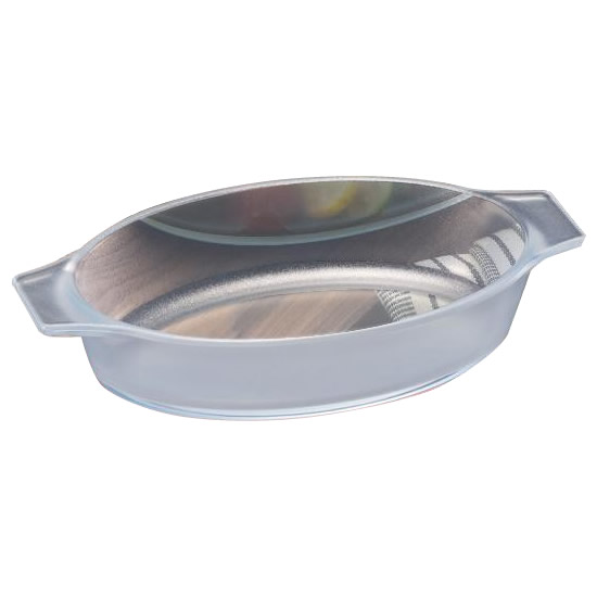 セラベイク(セラミックコーティング耐熱ガラス) オーバルロースターM 350ml K-9492