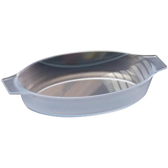 セラベイク(セラミックコーティング耐熱ガラス) オーバルロースターL 850ml K-9493