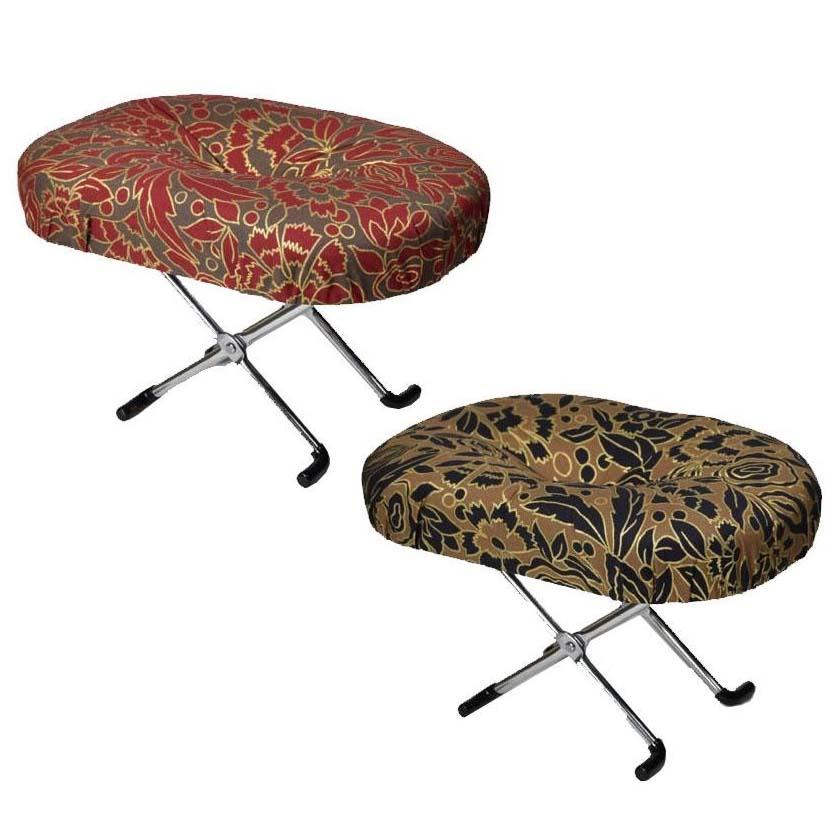 らくらく正座椅子 えくぼ 3段式(E-9-3) 赤金
