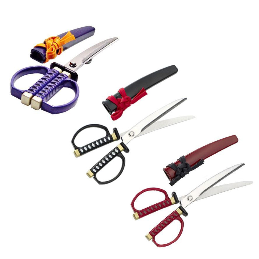 NIKKEN ニッケン刃物 関伝の美 日本刀はさみ SW-18 P・紫