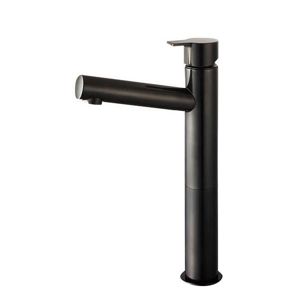 三栄水栓 SANEI 利楽 RIRAKU 立水栓 DJP(漆黒) Y50750H-2T-DJP-13