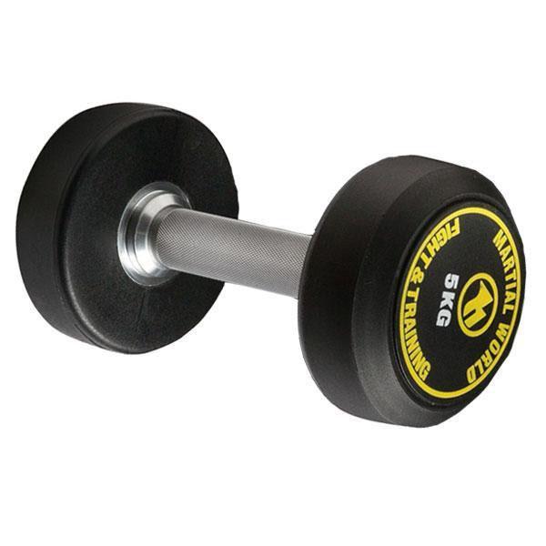 ポリウレタン固定式ダンベル 5kg UD5000