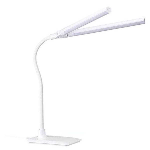 YAZAWA(ヤザワコーポレーション) LED2灯 スタンドライト 調光機能付き Y07SDL10W01WH