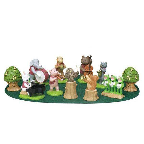 セトクラフト オーナメントセット(音符の森) 11キャラクターセット 専用マット付 SCB-1011-700