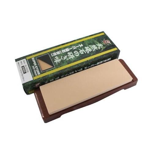 ナニワ研磨 日本製 スーパー砥石(ニューセラミックス) 台付 粒度:S800 IN-2008