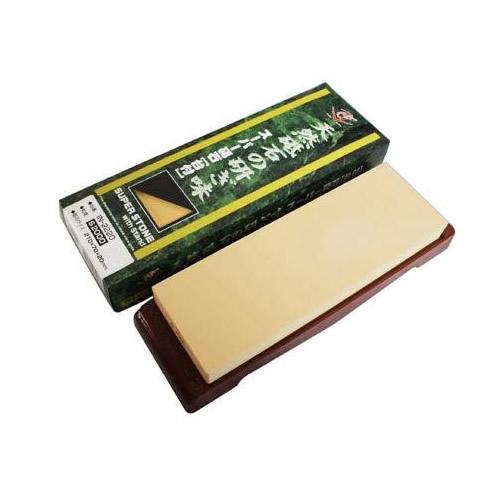 ナニワ研磨 日本製 スーパー砥石(ニューセラミックス) 台付 粒度:S2000 IN-2220