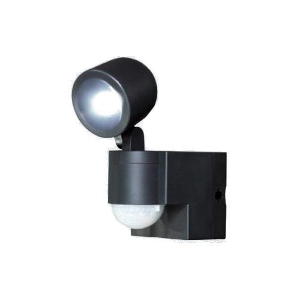 ELPA エルパ 乾電池LEDセンサーライト1灯 ESL-N101BT(BK)