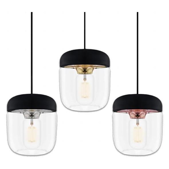 ELUX(エルックス) VITA(ヴィータ) Acorn(エイコーン) 1灯ペンダントライト ブラックコード スチール・02081