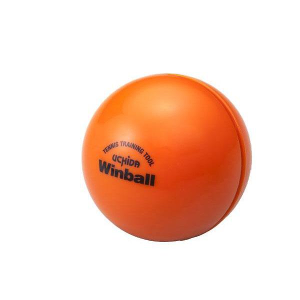 テニスラケット専用ウェイトボール ウィンボール オレンジ