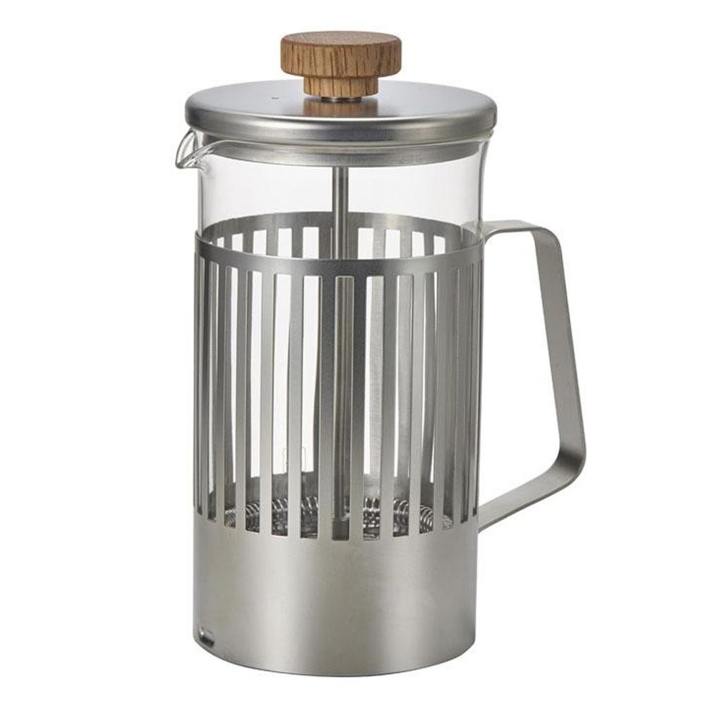 HARIO(ハリオ) 日本製 HariorTrebi(ハリオールトレビ) ティー&コーヒーメーカー 実用容量600ml(約4杯分) THT-4MSV 105652