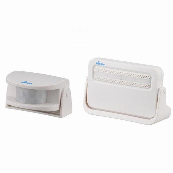 OHMオーム電機 monban(モンバン) ワイヤレスチャイム 電池式受信機・人感センサーセット OCH-M220
