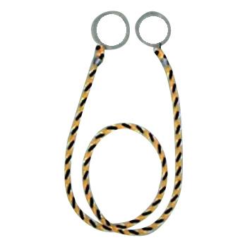 ユタカメイク カラーコーン用ロープ(標識) 10本入 約2m CC-30