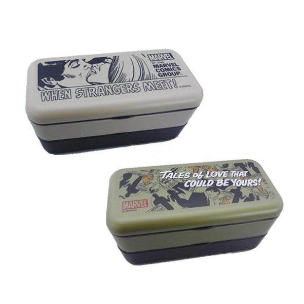 日本製 シンプルランチボックス SLBW6 マーベルRC・BR・pos.349478