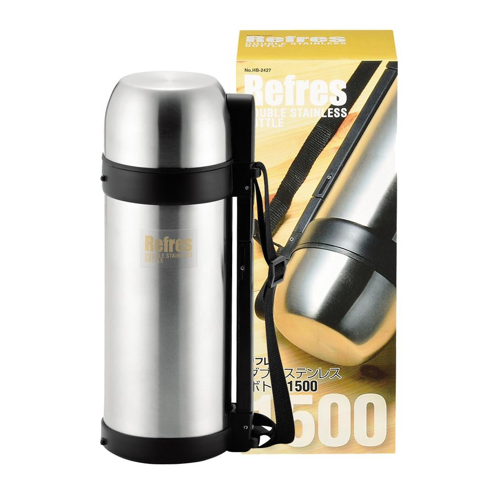 パール金属 リフレス ダブルステンレスボトル 1500mL HB-2427