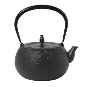 南部鉄器 宝生堂 鉄瓶 姥口松竹梅 黒 1.8L 700115