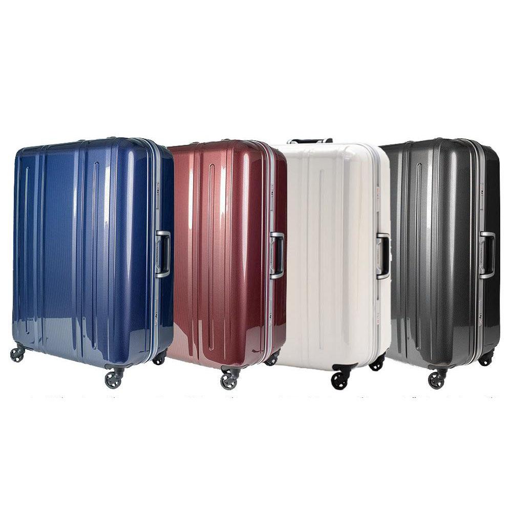 EVERWIN(エバウィン) 157センチ以内 超軽量設計 スーツケース BE LIGHT 68cm 94L 31227 ネイビーカーボン
