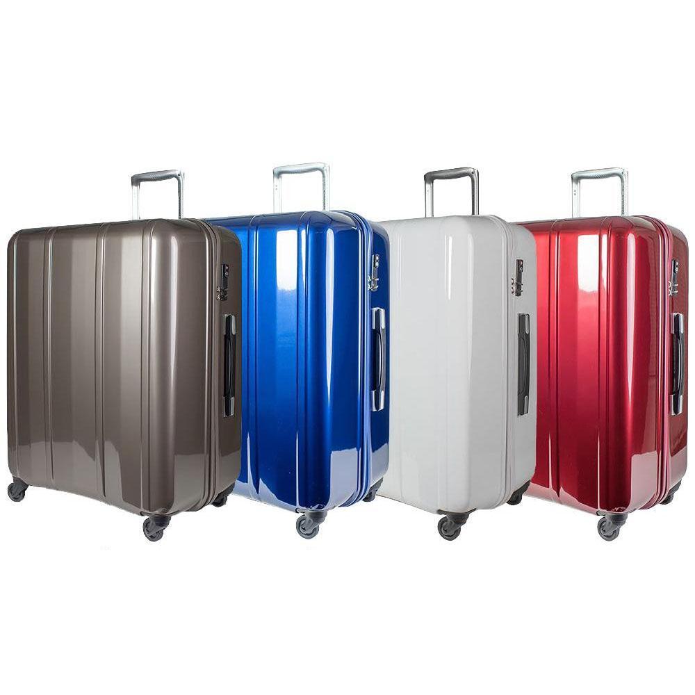 EVERWIN(エバウィン) 157センチ以内 超軽量設計 スーツケース BE MAX 64cm 100L 31228 グレー