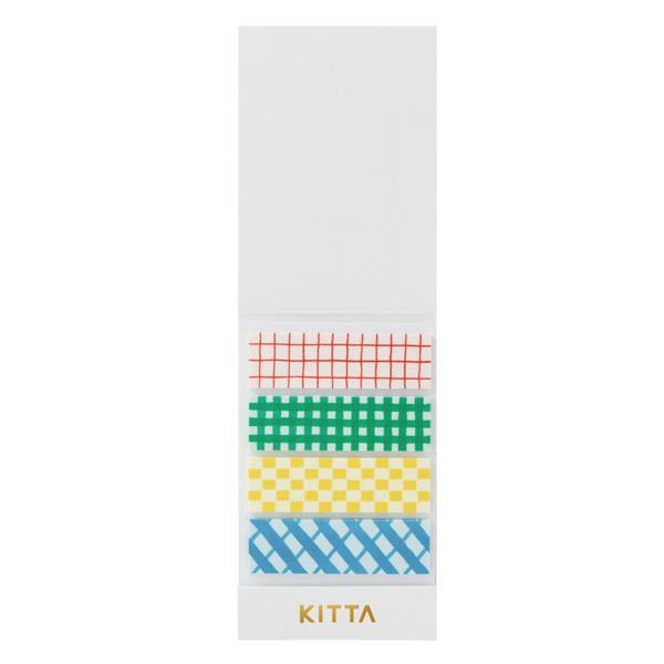 KING JIM(キングジム) KITTA キッタ  40枚入(10枚×4柄) 5冊セット チェック KIT004