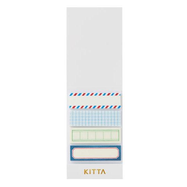 KING JIM(キングジム) KITTA キッタ  40枚入(10枚×4柄) 5冊セット フレーム KIT005