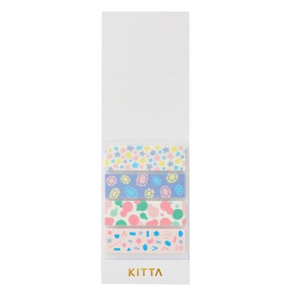 KING JIM(キングジム) KITTA キッタ  40枚入(10枚×4柄) 5冊セット ユメ KIT011