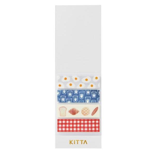 KING JIM(キングジム) KITTA キッタ  40枚入(10枚×4柄) 5冊セット アサゴハン KIT012